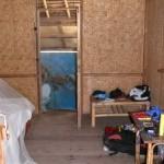 Die Hütte von innen