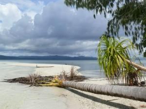 Raja Ampat - Blick auf die Insel Gam