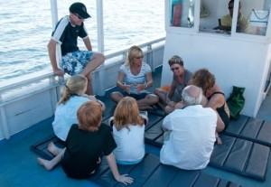 Meeresbiologieunterricht von Kath bei den Reefseekers