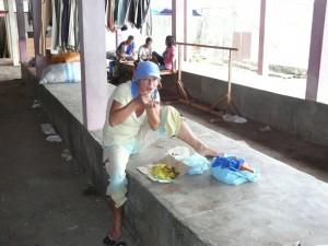 hausgemachtes Essen vom Markt