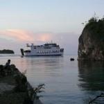 die Fähre von Gorontalo nach Wakai