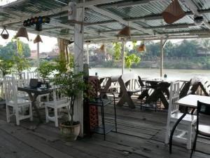 Restaurant und meine Privatterrasse tagsüber