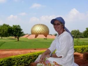 11 - das Madrimandir von Auroville