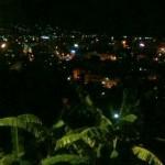 Aussicht nachts vom Panoramacafe
